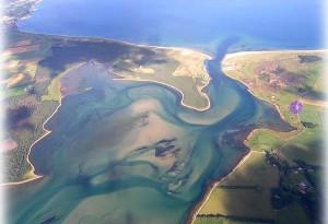Loch Fleet from the air
