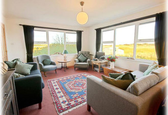 Oystercatchers sitting room