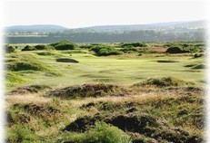 The 8th hole at Tain Golf Club